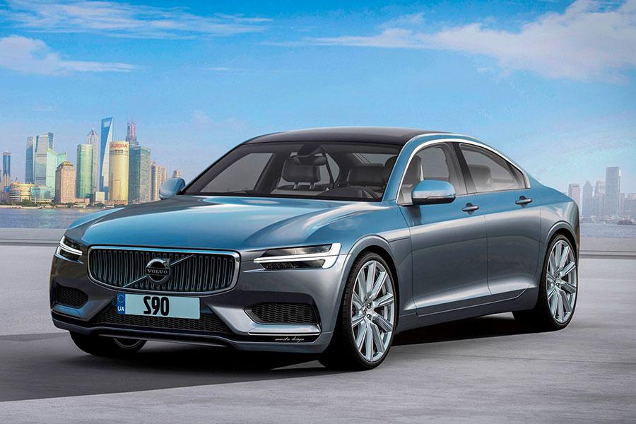 Обновлённые версии V90 Cross Country и Volvo S90 поступили в продажу в РФ