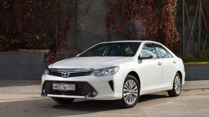 О выборе Toyota Camry c пробегом